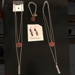 Ole Miss Jewelry Set